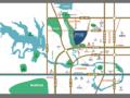 合景映月湾交通图